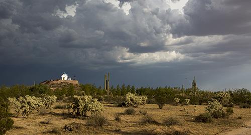 монастырь преподобного Антония Великого в Аризонской пустыне Сонора