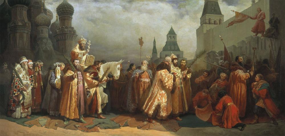 В москве г и семирадский 1876 год