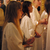Крещение по требованию общины