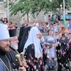 Паломничество Патриарха к иконе Киккской Божией Матери