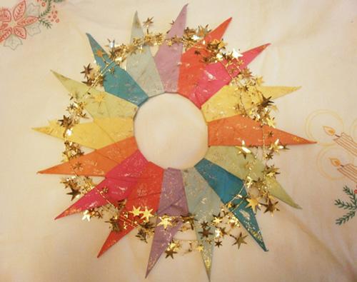 Как сделать рождественскую звезду на палке своими руками