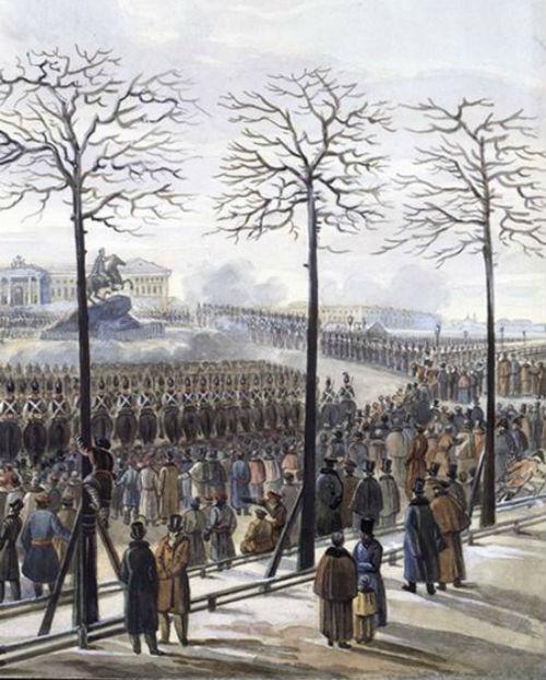 ТЕПЕРЬ НАШ ЧЕРЕД валить самодержавие!  14 декабря - 181 годовщина восстания декабристов.