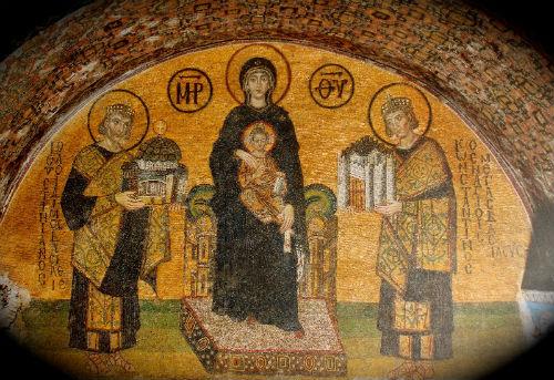 Богоматерь с иисусом мозаика доклад 5610