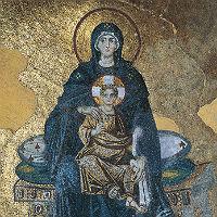 Знак торжества Православия: мозаика Божией Матери в Константинопольской Софии