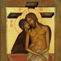 Икона «Не рыдай Мене, Мати»: православная Пьета