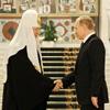 Церковь официально поздравила Владимира Путина с победой
