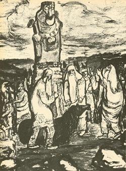 Оргии в языческих храмах