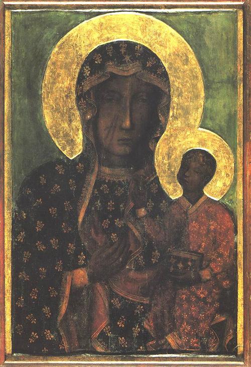 Obraz Matki Boskiej Częstochowskiej Polski Apostolat Katolicki w Archidiecezji Atlanta