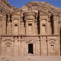 Иорданские заметки: розовые гробницы Петры