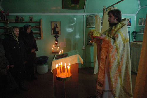 пять дней священника, благочинный Каргопольского благочиния, иерей Андрей Усачев
