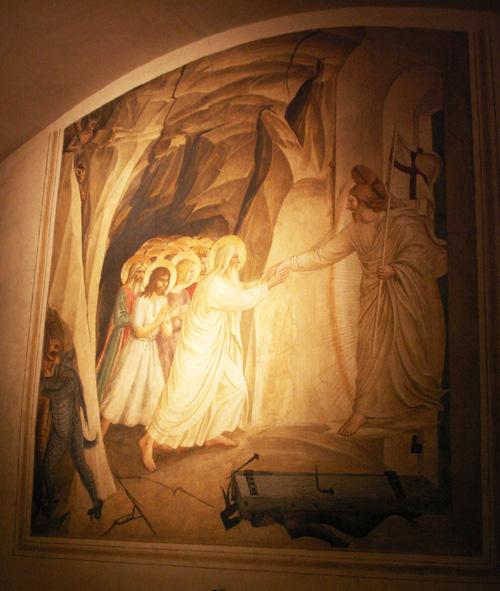Роспись келии, монастырь Сан-Марко во Флоренции