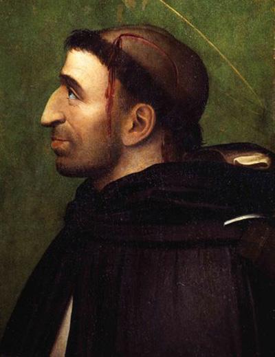 Савонарола в виде католического святого Петра