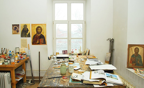 Сергей Антонов и Ирина Зарон: «В рамках канона можно заниматься современным церковным искусством».