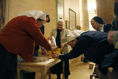 Как употребляют зерно после соборования