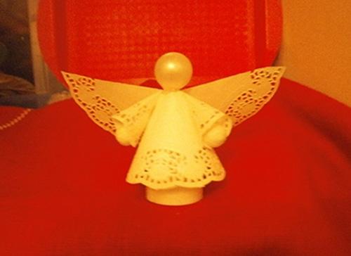 Ангел своими руками из подручных материалов