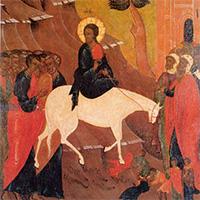 Евангелие в Вербное Воскресенье: Навстречу смерти твоей и моей