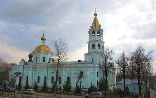 Храм во имя святителя Николая на Трех Горах