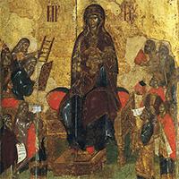 Икона «Похвала Богородицы»: акафист в красках