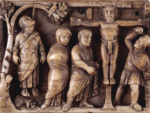 Крестопоклонная неделя, икона Распятия