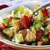Рецепты Рождественского поста: хлебный салат, зеленый суп и рагу из кальмаров