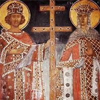Святые Константин и Елена: иконы и портреты