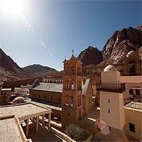 «Ворота в рай» на Синайской горе