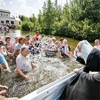 Освящение озера в Косино: в Москве отметили праздник Косинской иконы Богородицы