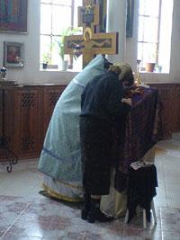 Падший человек возрождается в таинствах крещения и покаяния