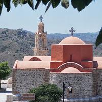 Православный Родос: чудотворная икона, миссионерский монастырь и Библия в фресках