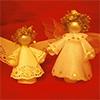 Рождественские украшения и игры: Ангел с секретом