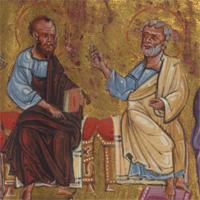 Сошествие Святого Духа на апостолов: редкая армянская миниатюра