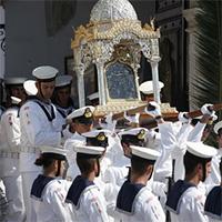 Успение Богородицы по-гречески