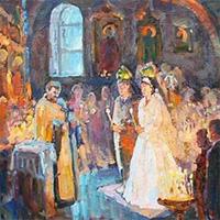 Венчание тех, кто давно в браке: подготовлен особый чин