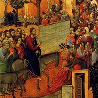 Вербное Воскресенье - Неделя Ваий: царский путь