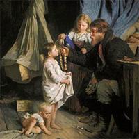 Воспитание – задача отца