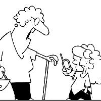 Карикатура как искусство и христианские темы. Блог арт-директора «Нескучного сада» Дмитрия Петрова